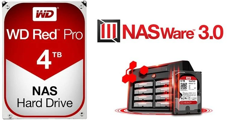 WD Red Pro Drives and NAS Enclosure - 02