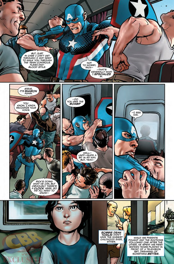 Captain America Steve Rogers #1 preview 2
