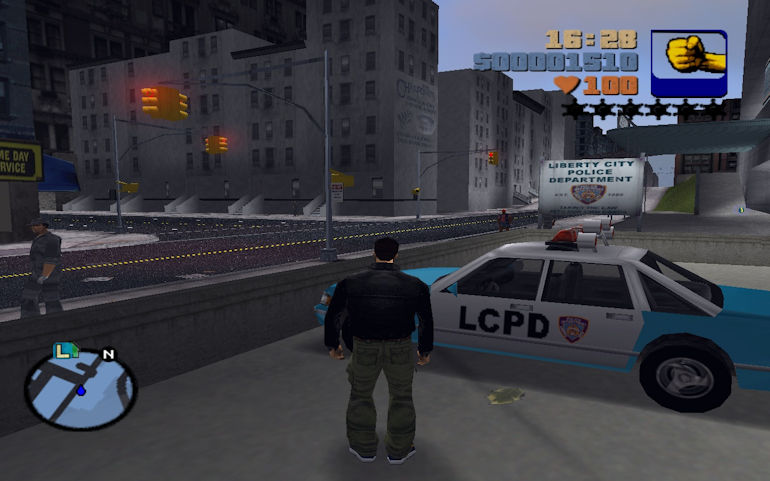 Game Hall of Fame - GTA III In Game