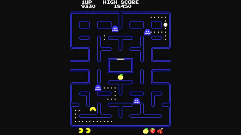 Game Hall of Fame - Pac-Man In Game