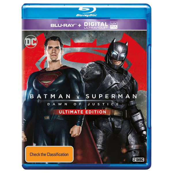 Batman v Superman Ultimate Cut Blu-ray Art And Special Features Revealed 2