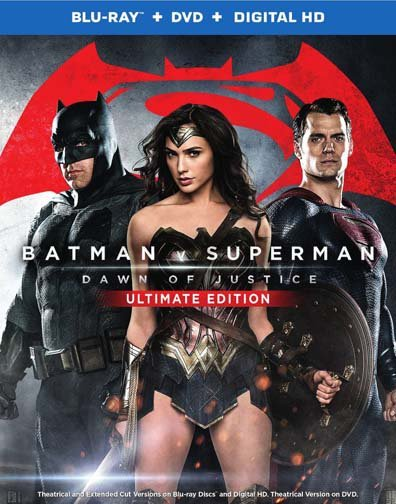 Batman v Superman Ultimate Cut Blu-ray Art And Special Features Revealed