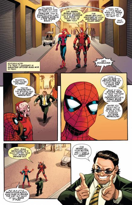 Deadpool and Spider-Man Slam Batman v Superman in New Marvel Comic