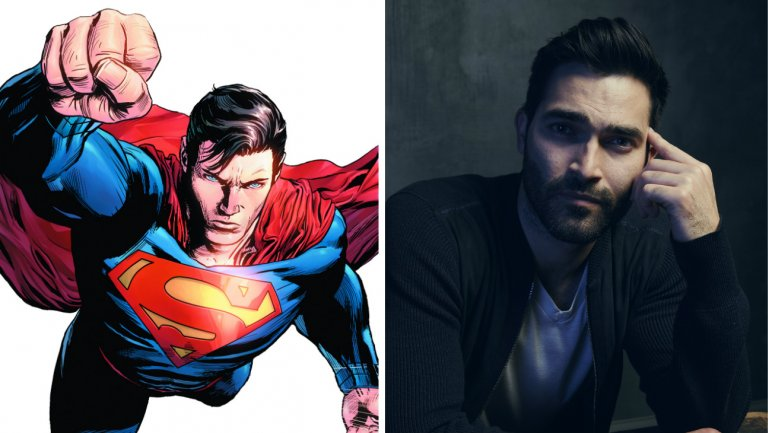 Supergirl gets superman actor