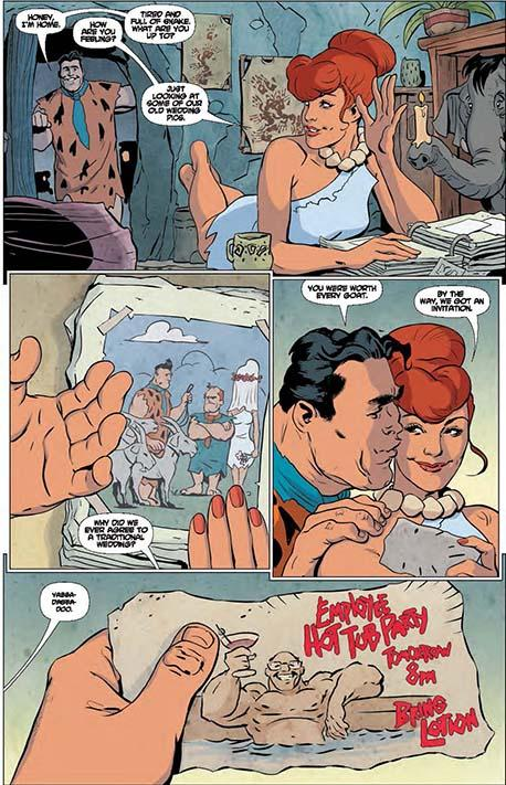 The Flintstones #1 preview 04