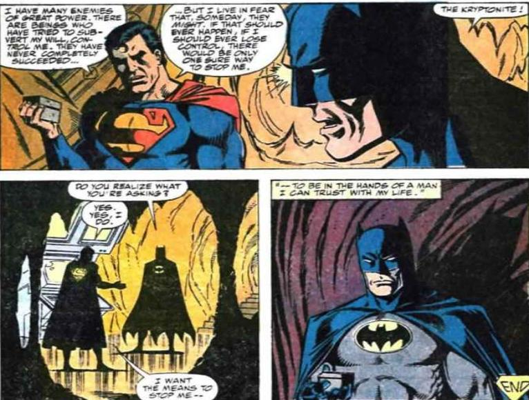 batman vs superman history