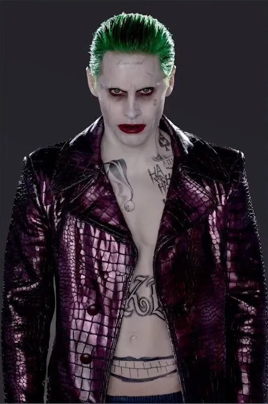 suicide squad joker's tattoos