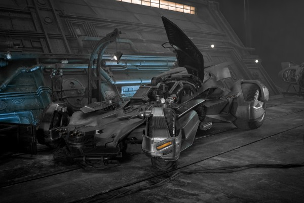 batmobile the justice league movie