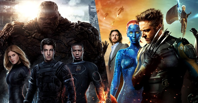 xmen fantastic four cross over marvel movies