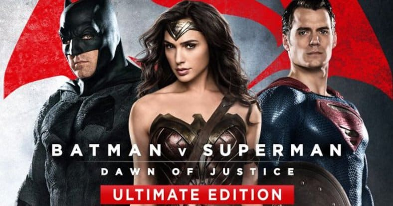 Batman v Superman Ultimate Edition Blu-Ray is sold out in South Africa