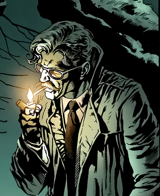 Why Is Commissioner Gordon Smoking Again?