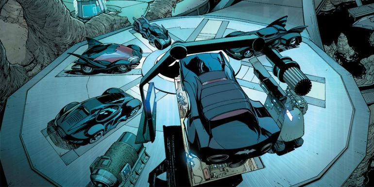 Batcave Batman batmobiles