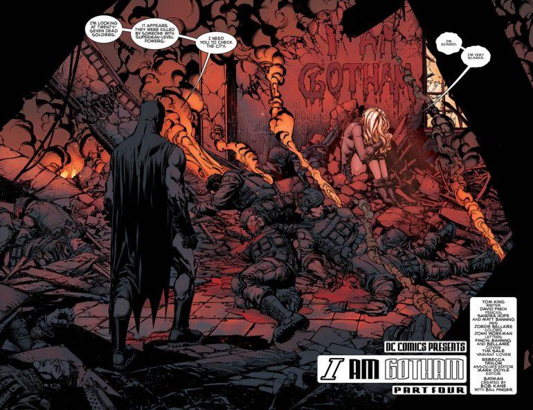 Batman #4 -  comic book review