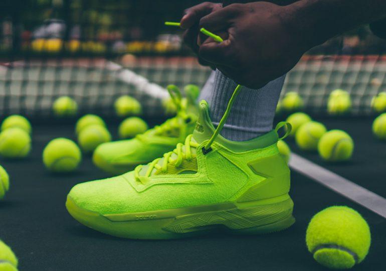 hot sale online 4757e 531fa adidas D Lillard 2 Tennis Ball