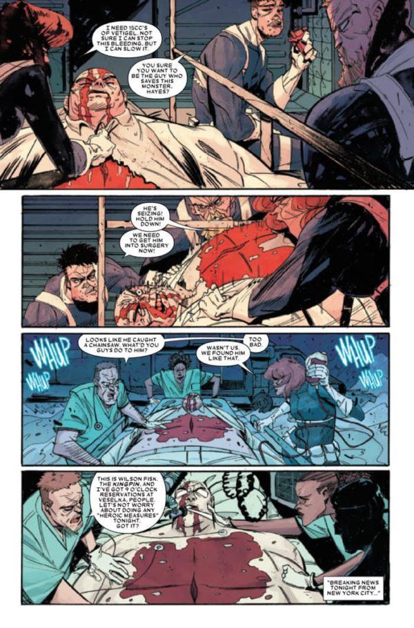 Civil War II - Kingpin #4 - comic book review