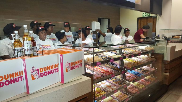 dunkin donuts launch