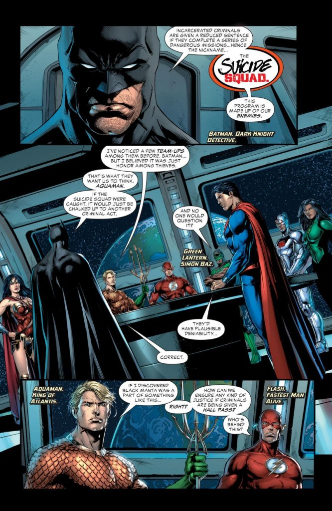 Justice League vs. Suicide Squad #1 – Comic Book Review