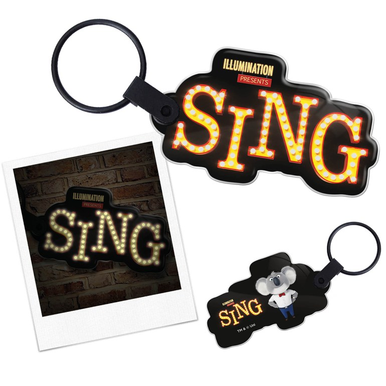Sing movie competition