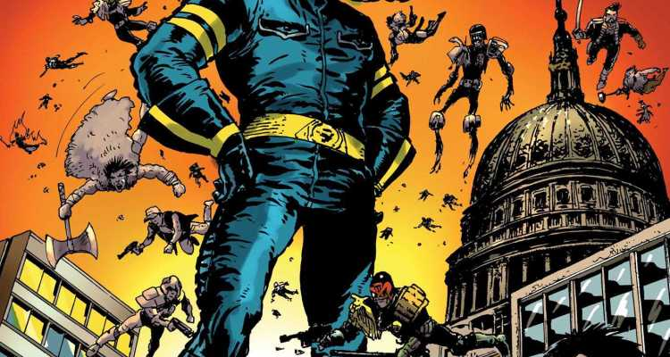 2000AD's Greatest: Celebrating 40 Years Review - You'll wish it were bigger