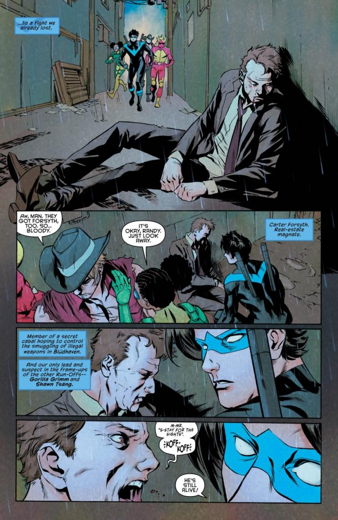Nightwing #13 comic book review