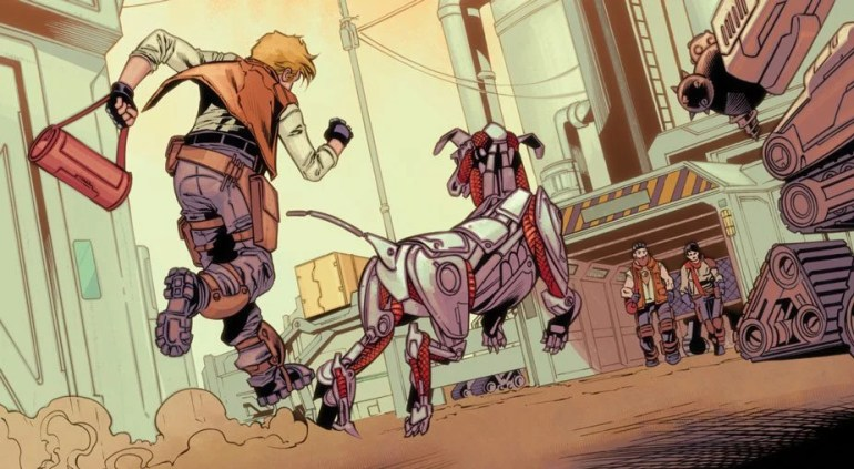 Red Dog #1 Review comic