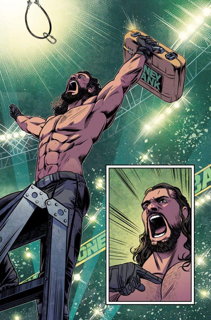 WWE #1 Comic Book Review