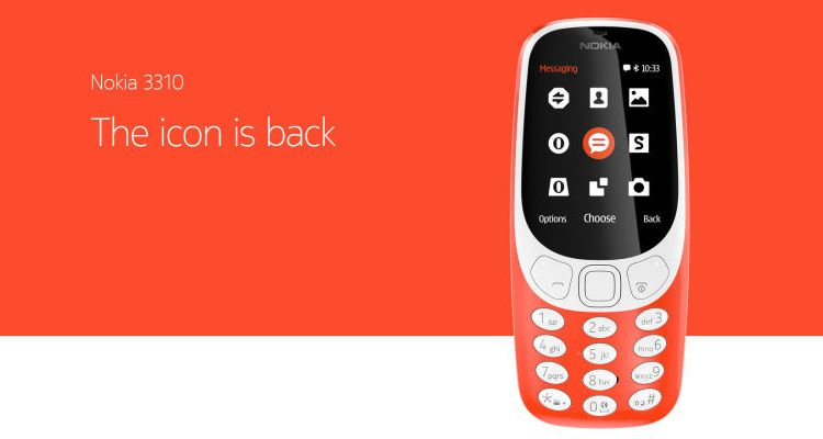 The Nokia 3310 Lives Again - Yes, You Can Play Snake Too