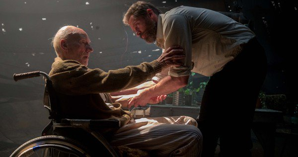 Not only are we saying goodbye to Hugh Jackman as Wolverine in Logan, but it's Sir Patrick Stewart's final X-Men movie as well.