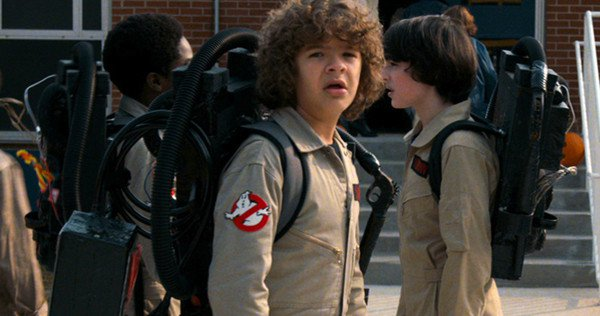 The First Stranger Things Season 2 Pic Shows the Kids as Ghostbusters