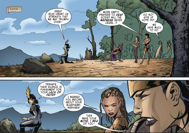Odyssey Of The Amazons #3 - Review