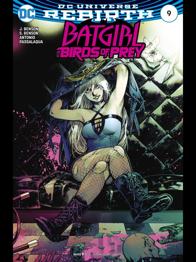 Batgirl and the Birds of Prey #9 Review