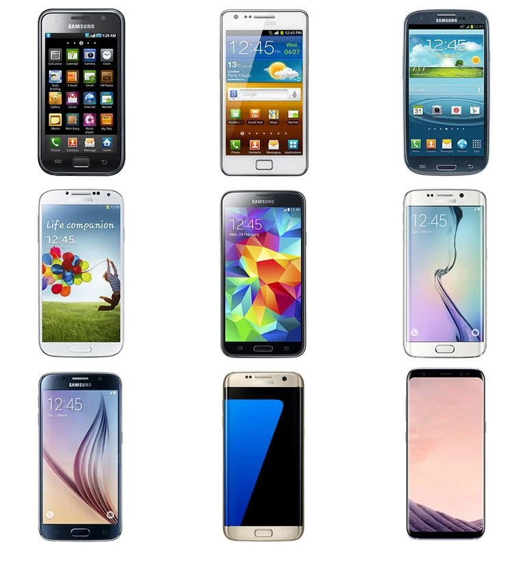 A Look Back at the Evolution of Samsung Galaxy S Series