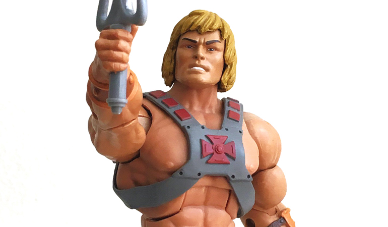Action Figures HE-MAN And The Master Of the Universe Review