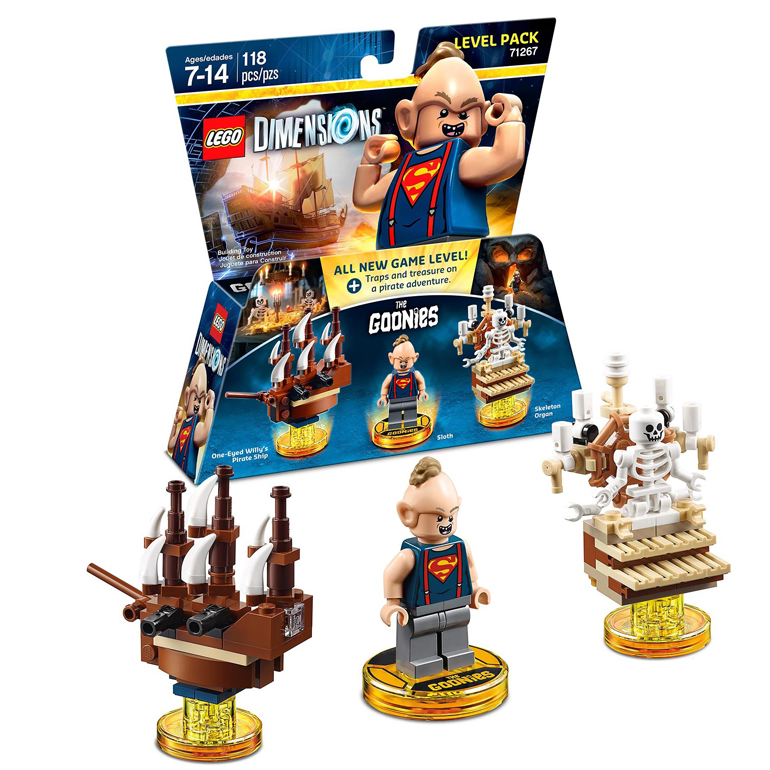 Lego Dimensions Goonies Level Pack Game Review - Hey, you guuuys!