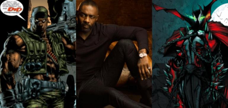 Idris Elba Spawn