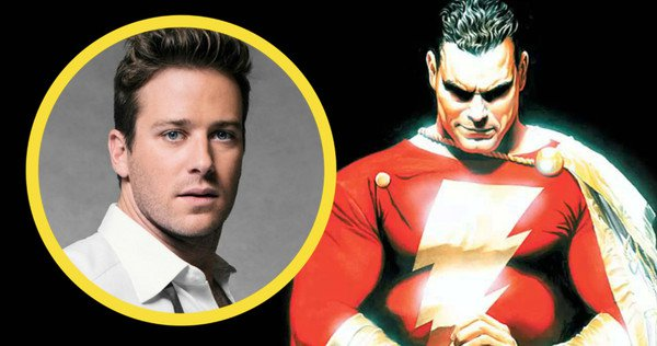 The Rock Wants Armie Hammer To Play DC's Shazam
