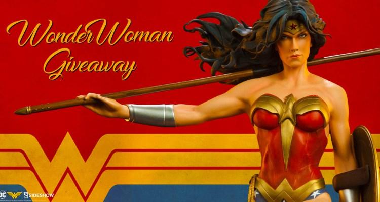 Wonder Woman Premium Format Figure Sideshow Collectibles