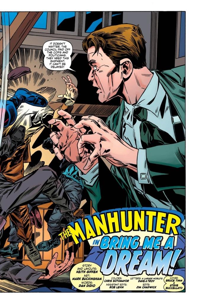 Manhunter Oversize Special #1