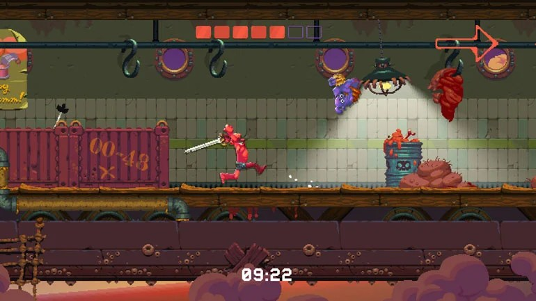 Nidhogg 2 Review - Swordplay, Laughter And Getting Eaten By A Giant Worm