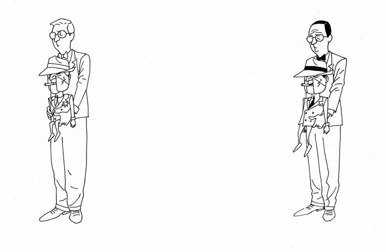 Kevin Nowlan Batman: The Animated Series Concept Art