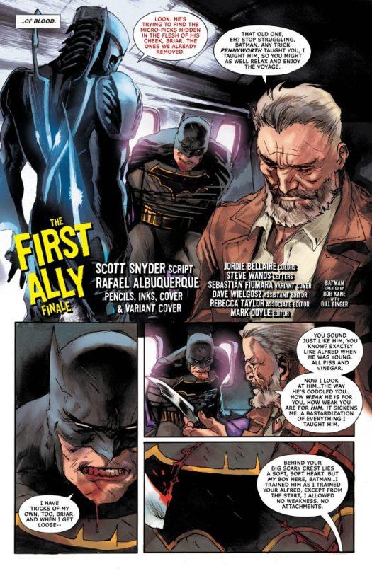 All-Star Batman #14 Review – A Tearful Goodbye