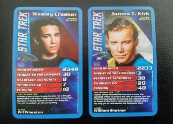According To Top Trumps, Wesley Crusher Is A Bigger Threat To The Universe Than Captain Kirk