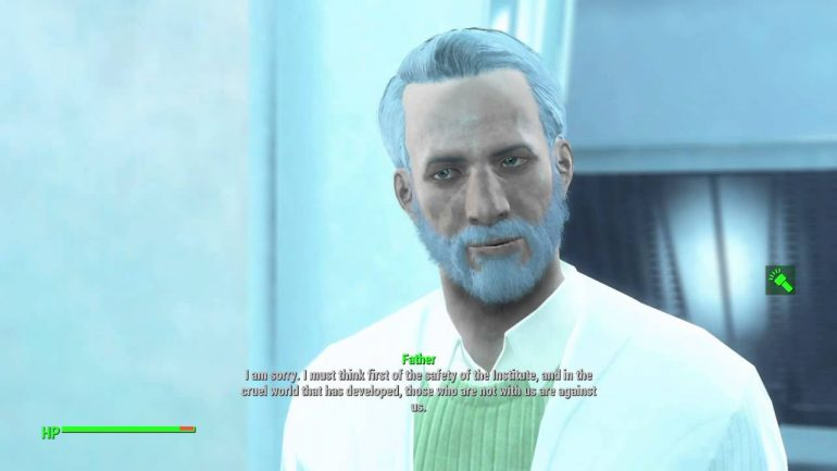 fallout 4 - world war three - father