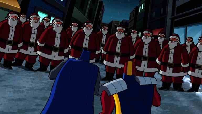 The Brave And The Bold – Invasion of the Secret Santas