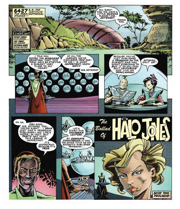 The Ballad Of Halo Jones Vol. 2 Review - A Masterpiece!