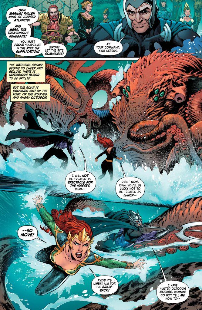 Mera, Queen of Atlantis - #4 review