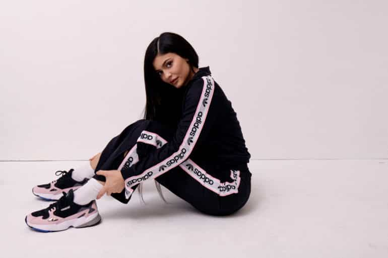 adidas Originals Drops New Falcon Campaign With Kylie Jenner