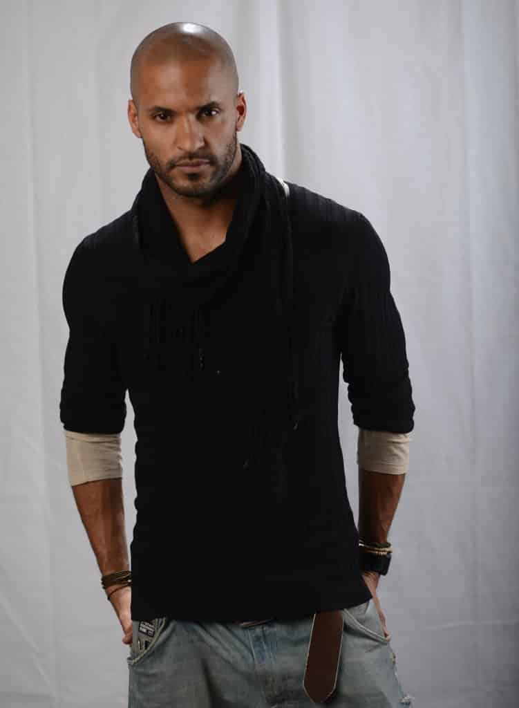 Meeting Ricky Whittle