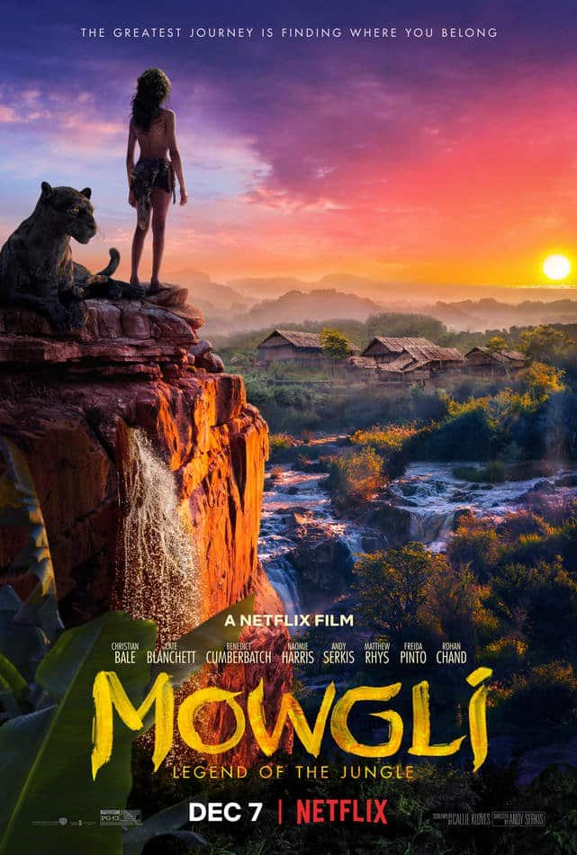 Andy Serkis' Mowgli Gets A New Netflix Trailer And Release Date