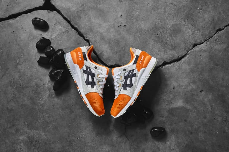 Afew X BEAMS X ASICSTIGER Drops New Orange Koi Collaboration